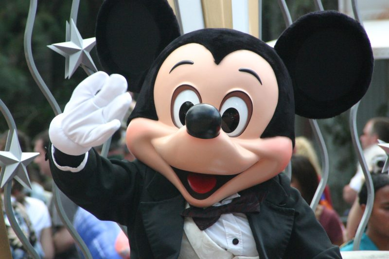 mickey mouse in Orlando