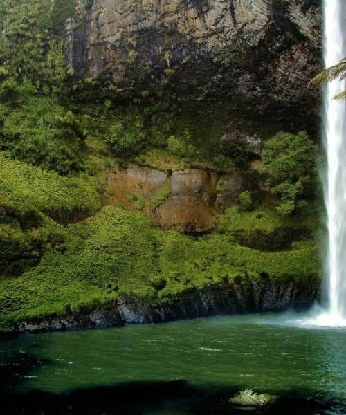 Waterfall New Zealand North Island