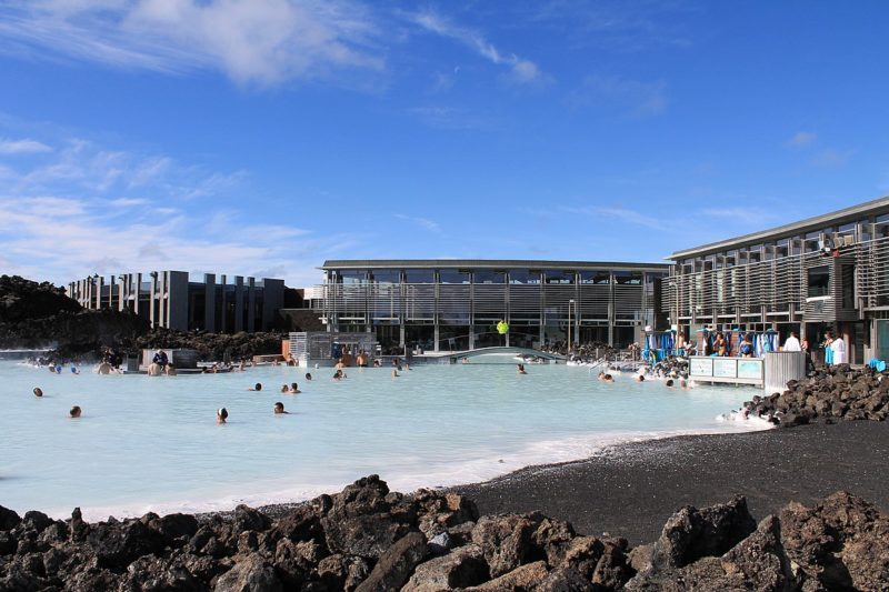 Iceland's world-famous Blue Lagoon spa