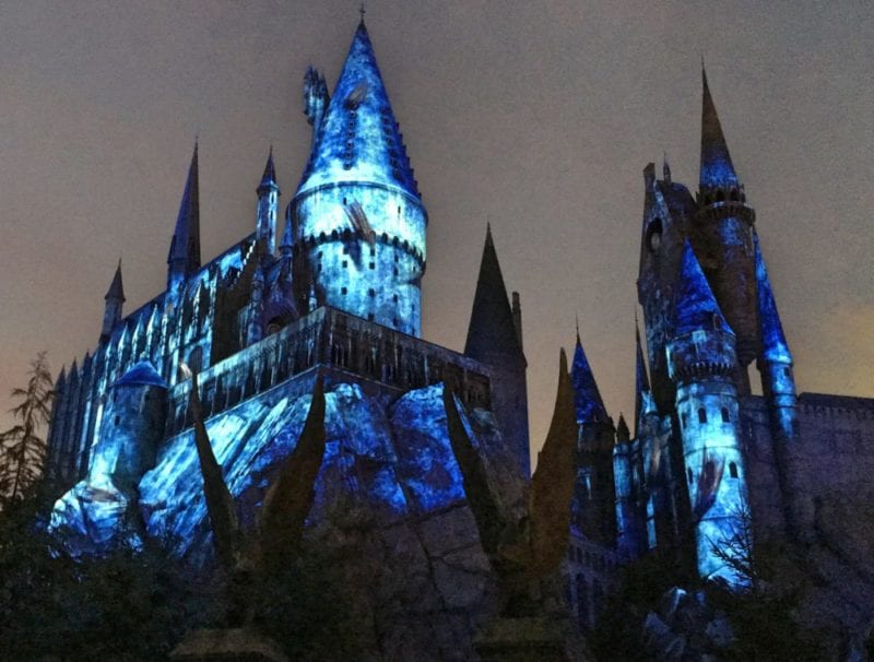Harry Potter Light Show Universal Studios Japan