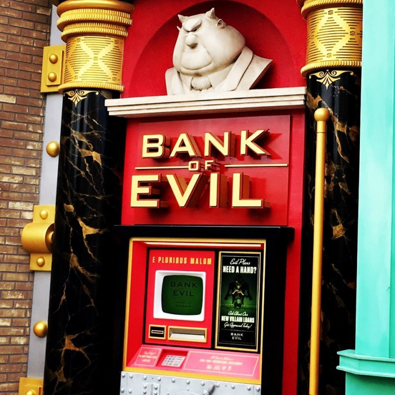 Evil Bank - Minion Park Universal Studios Japan