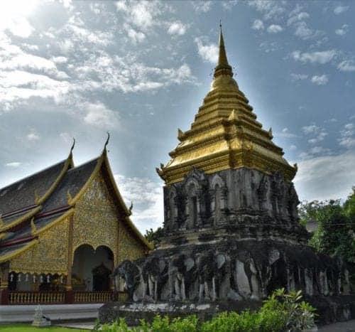 Wat Chiang Man - Elephant Chedi