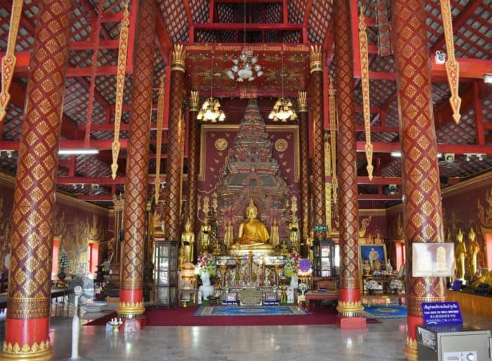 Wat Chiang Man – Golden Buddha