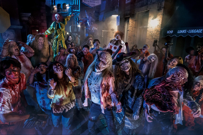 Street Zombies Universal Studio Japan