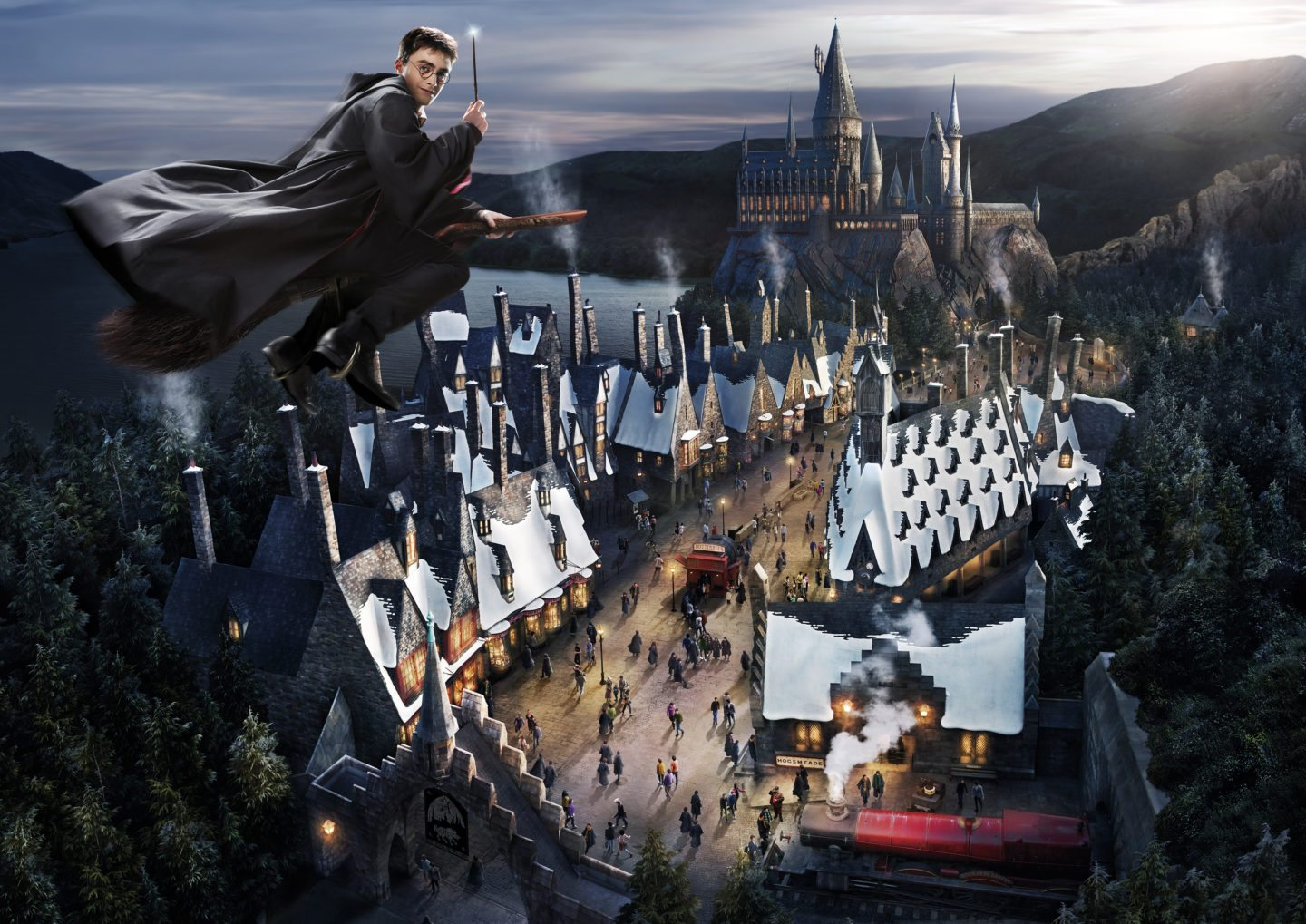 The Wizarding World of Harry Potter (aka: Universal Studios Japan Harry Potter)