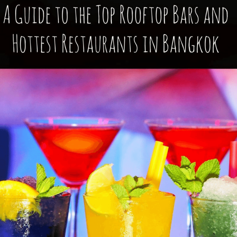 A Guide to the Top Rooftop Bars and Hottest Restaurants in