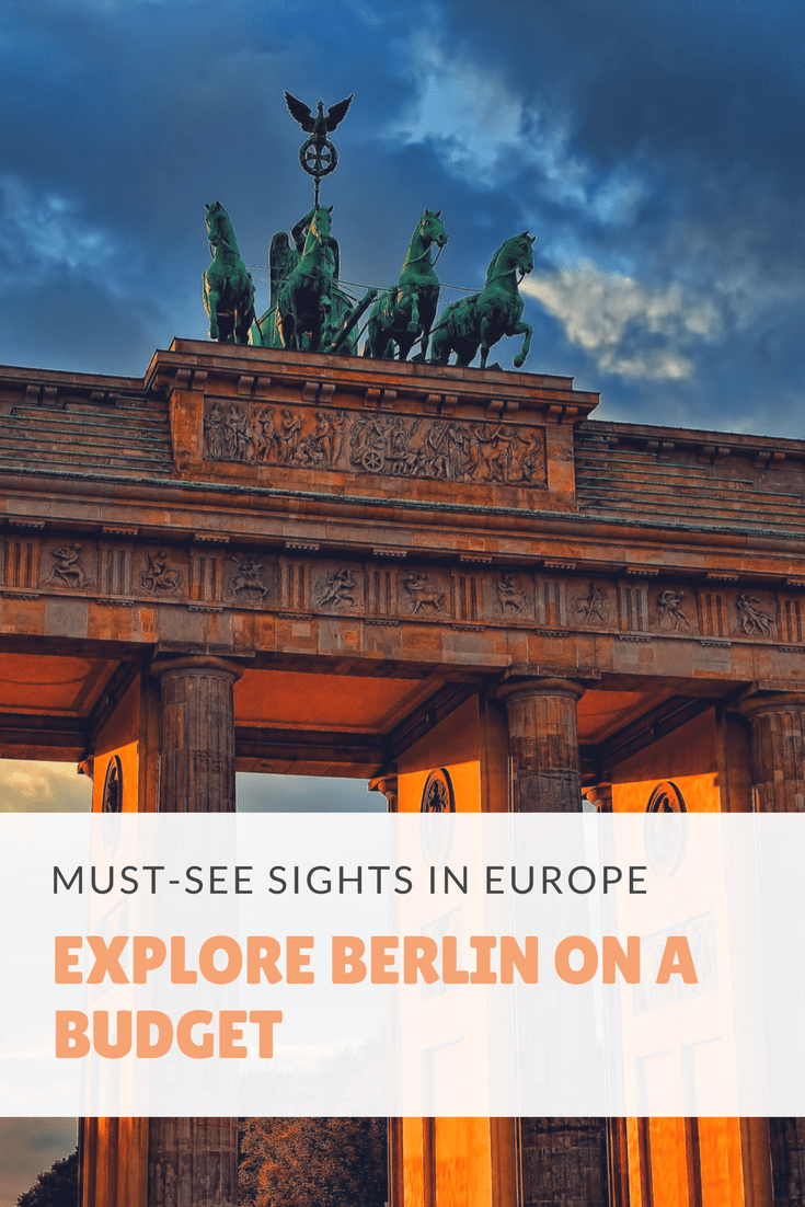 Explore Berlin On A Budget. Berlin (Germans Capital) is not only one of the most exciting cities in Europe but also one of the most affordable ones. It is the perfect place for travelers who love art, music, and good food but don't want to spend a fortune.