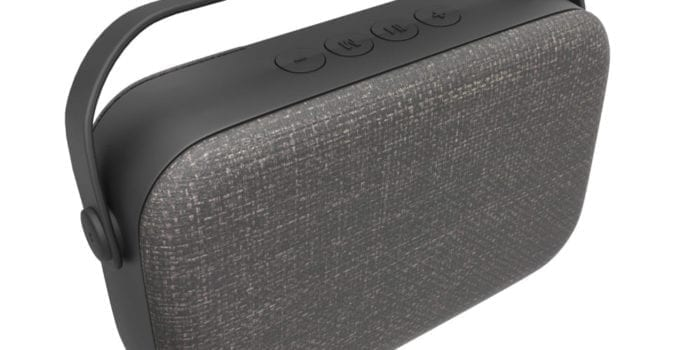 Laser Medium Fabric Bluetooth Speaker