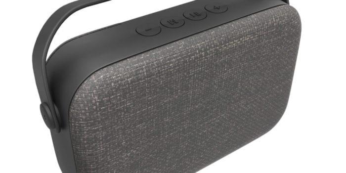 Laser Medium Fabric Bluetooth Speaker