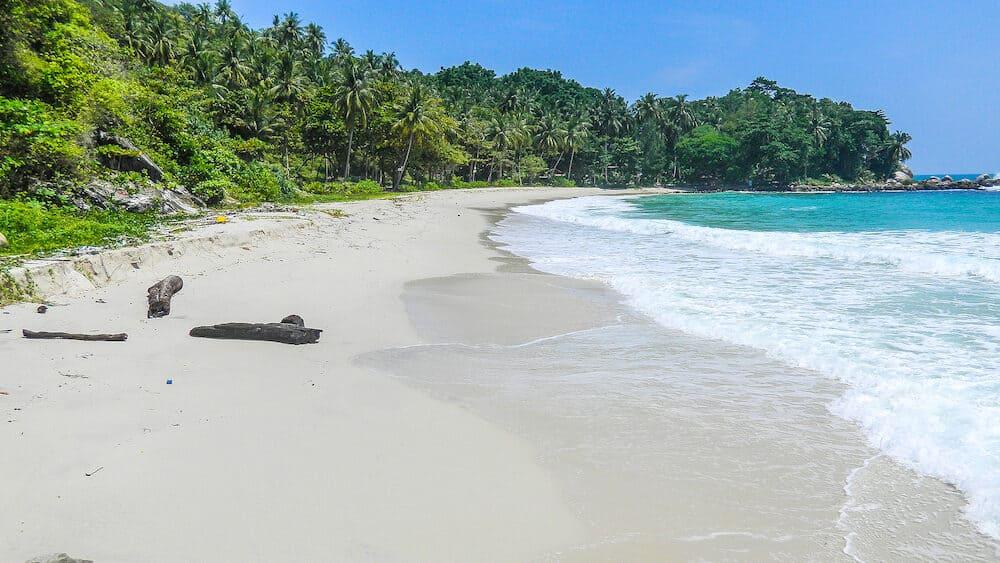 Freedom Beach in Phuket island, Thailand, Asia