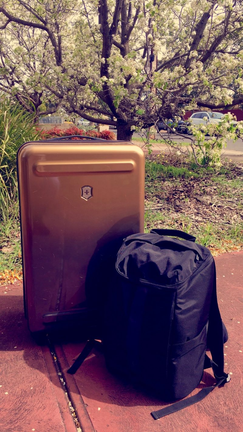 Review of Victorinox Etherius Gradient Luggage - Large