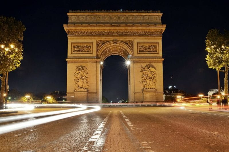 arc de triomphe - Where to stay in Paris – Close to Famous attractions