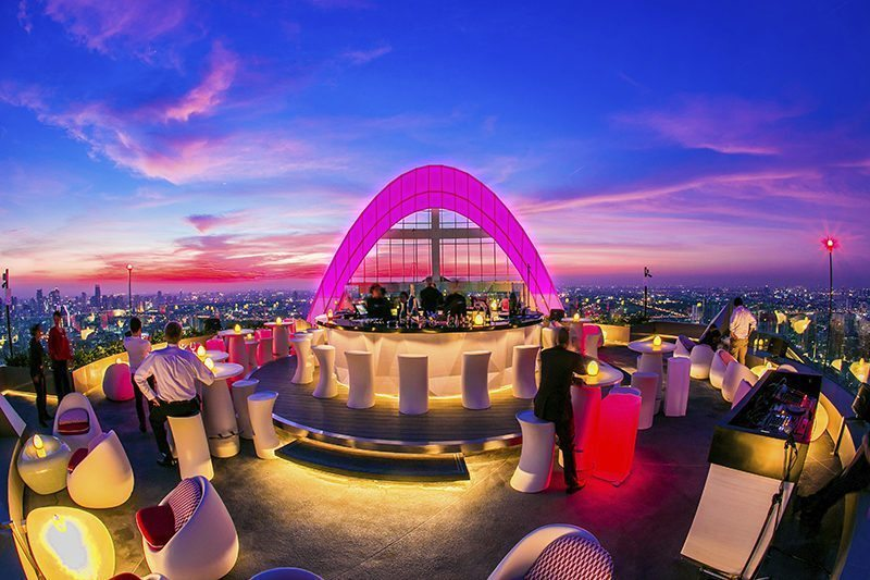CRU Champagne Bar at Red Sky, Centara Grand at CentralWorld