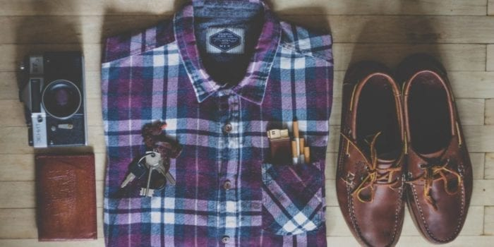 Mens fashion and travel