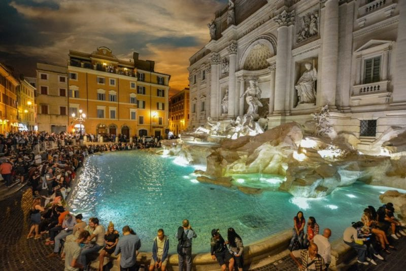 Trevi Fountain - Where to Stay in Rome – Close to Famous Attractions