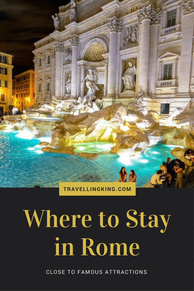Where to Stay in Rome – Close to Famous Attractions. Rome is a beautiful city to visit and very high up on my recommended lists of where to visit! However like most cities, it's difficult to work out where to stay, we've done our best to provide a list of accommodations close to famous sites depending on your budget.