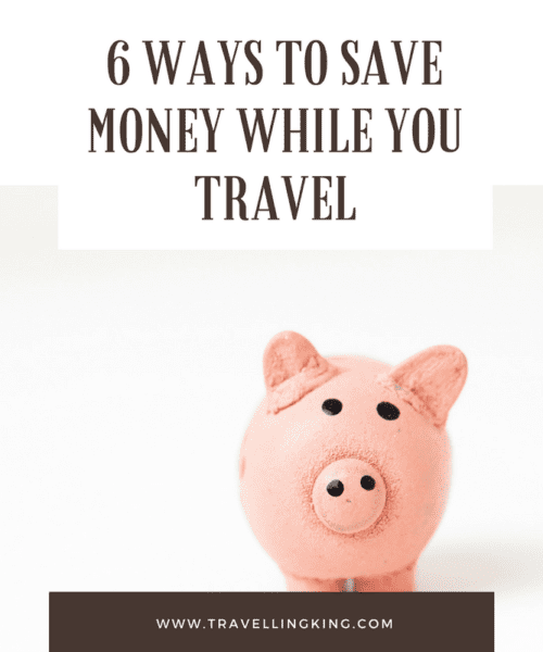 6 ways to save money while you travel. Saving money while travelling may sound like an impossible task, but it's definitely doable for those willing to stick to a budget. If you have the willpower to cut costs, you'll be able to save money along the way so that you can splurge later. Here are some ways that you can save money while travelling overseas.