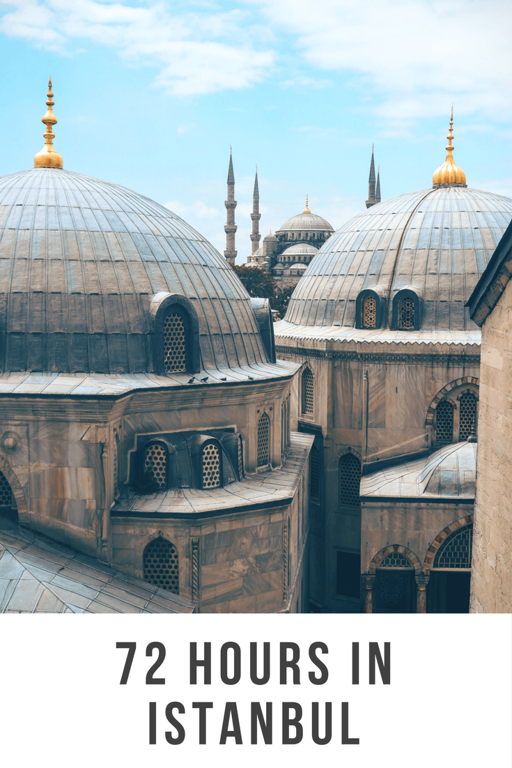 72 hours in Istanbul. Istanbul is a wonderful mix of Mediterranean-style culture (think great food, pavement eating, long meals) combined with Central Asian/Middle East influence. It is a transcontinental city as it straddles theBosphorusstraitwhich separatesEuropeandAsia.