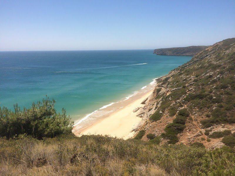 Algarve beach - in Winter