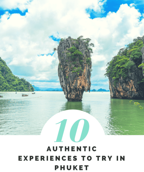 10 Authentic Experiences to try in Phuket. Amidst all this commercialization, there is still tremendous scope to get off the tourist trail and venture into something more local. So when in Phuket, skirt some of the all-too-obvious attractions and go for these 10 authentic experiences instead.