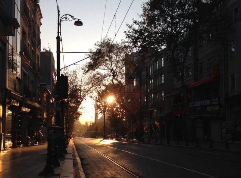 Early Morning Walk istanbul