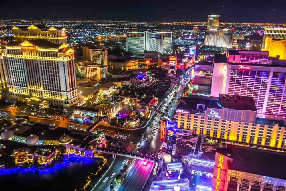 Las Vegas from the Eiffel Tower Experience Paris Hotel and Casino-2