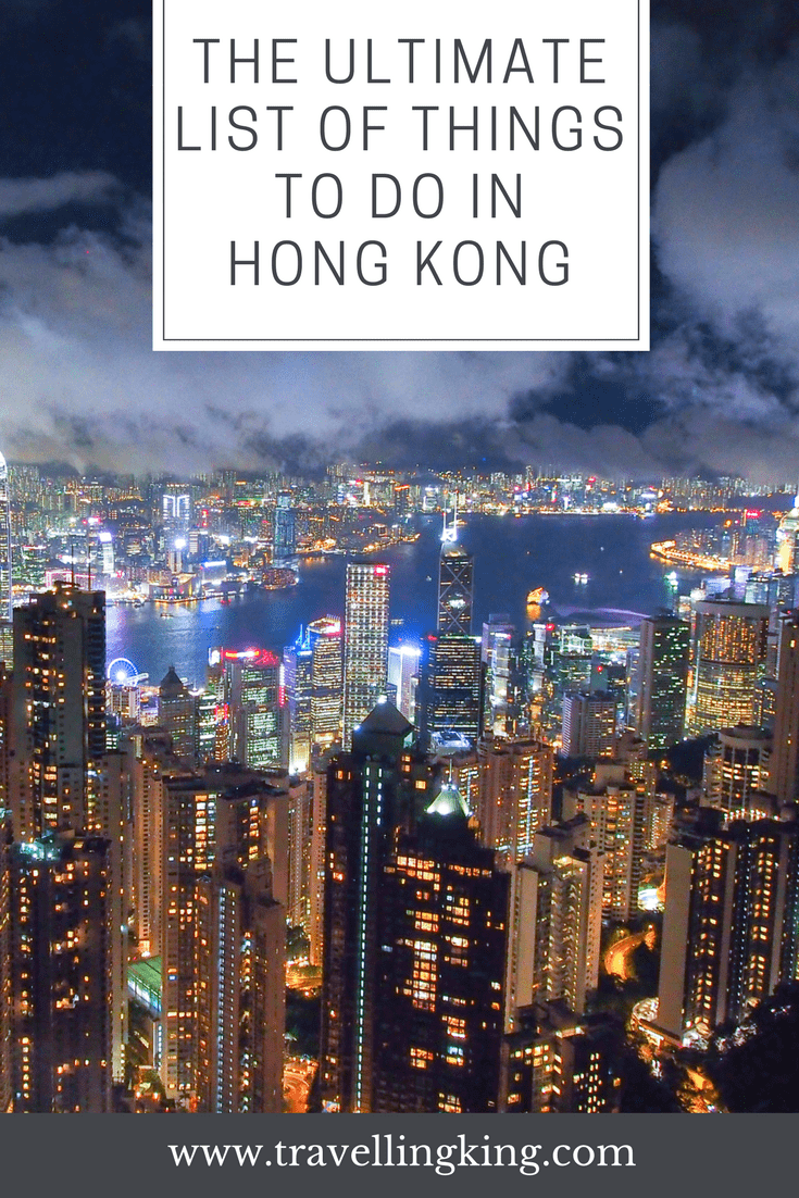 The Ultimate List of Things to do in Hong Kong - Beyond the Popular Attractions.
