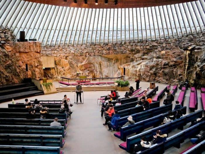 Visit Temppeliaukio Church-My Travel Diary