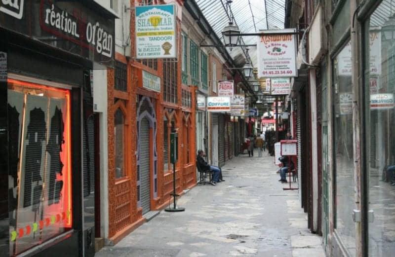 Covered Passages in paris