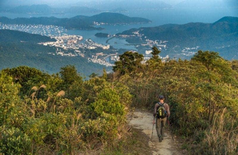 Hike the Dragon's Back Hong Kong