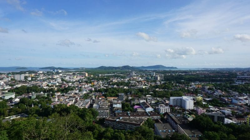 Where to stay in Phuket Town Thailand
