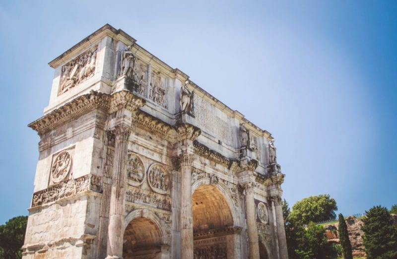 Arch of Constantine - Things to do in Rome