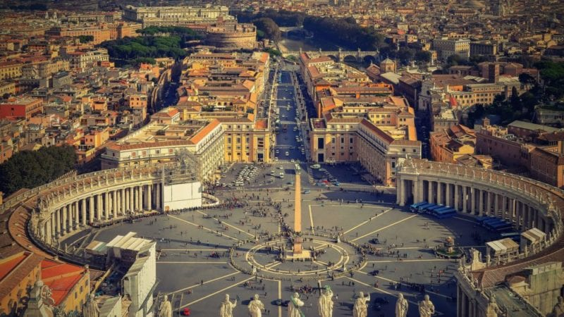 Things to do in Rome - The Vatican - St Peters Square
