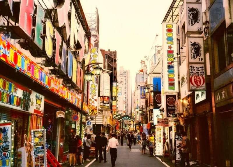 Where to stay in shinjuku Tokyo