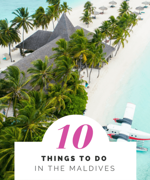 10 things to do in the Maldives