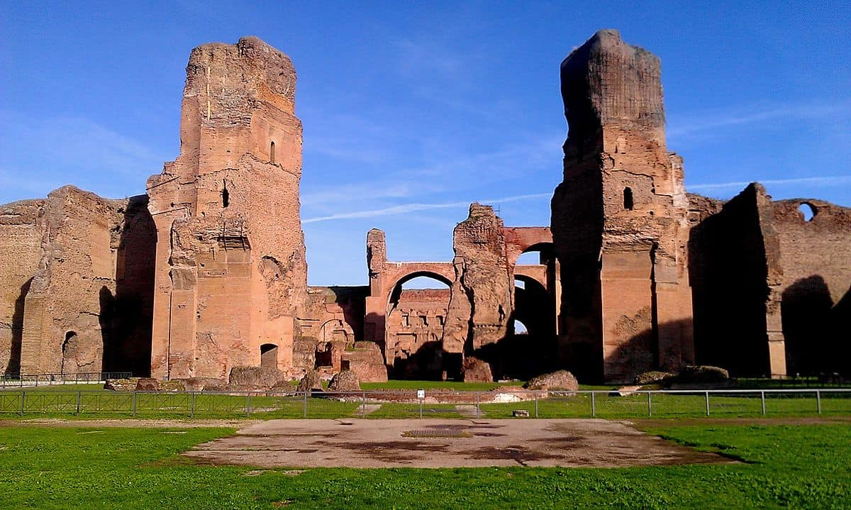 Baths of Caracalla – Roman Baths - Things to do in Rome