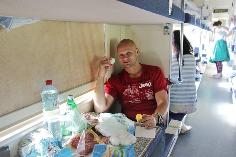 Budget guide to traveling Russia. On a sleeper train