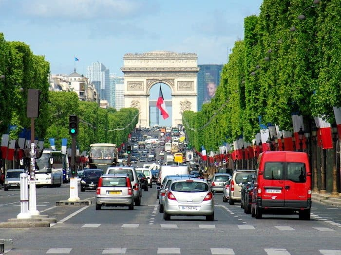 Champs-Elysees - Travel Tips for Visiting Paris on a budget