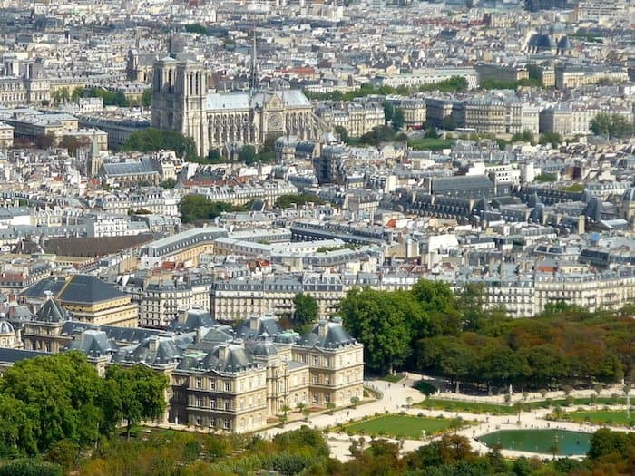 Day Panoramic view from Montparnasse - Travel Tips for Visiting Paris on a budget