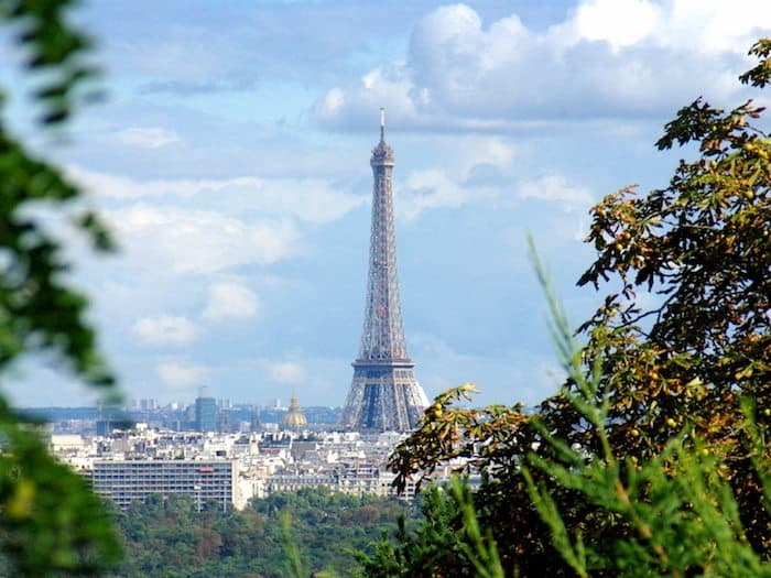 Eiffel Tower from Mont-Valérien - Travel Tips for Visiting Paris on a budget