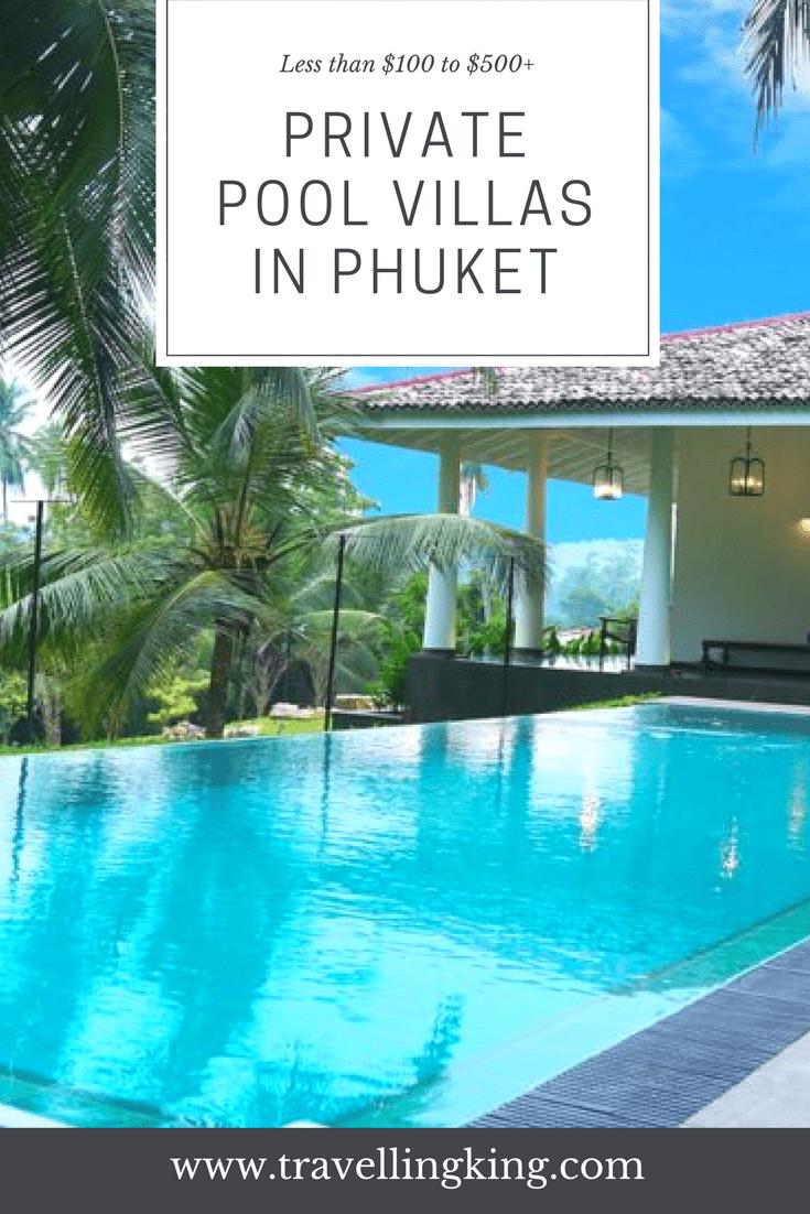 Private Pool Villas in Phuket