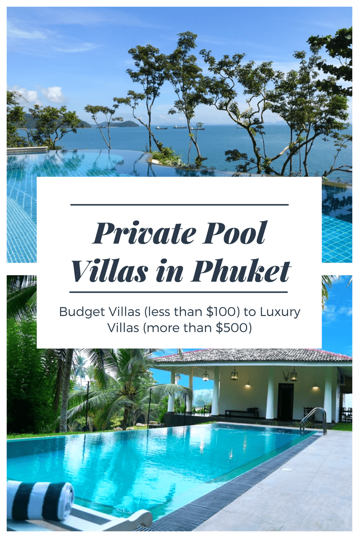 Private Pool Villas in Phuket