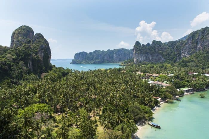 Railay Beach and caves- things to do in Krabi