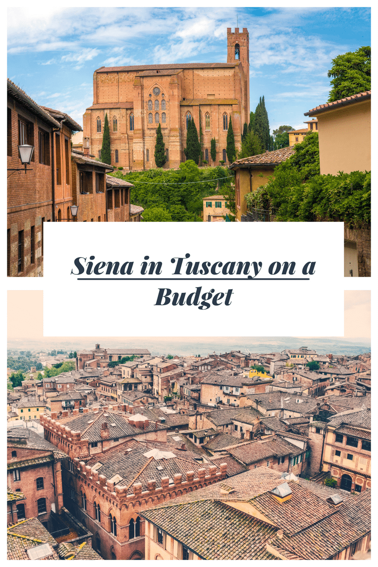 Siena in Tuscany on a Budget. Siena has one of the most beautiful, most complete medieval cityscapes in Europe, and it's a surprisingly inexpensive place to stay, whether you intend to stick to the city or use it as a base to explore some of the Tuscan hill towns nearby. Here are our tips to help you visit Siena on a budget.