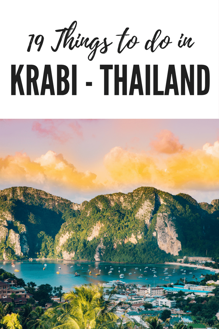 19 Things to do in Krabi (Thailand)