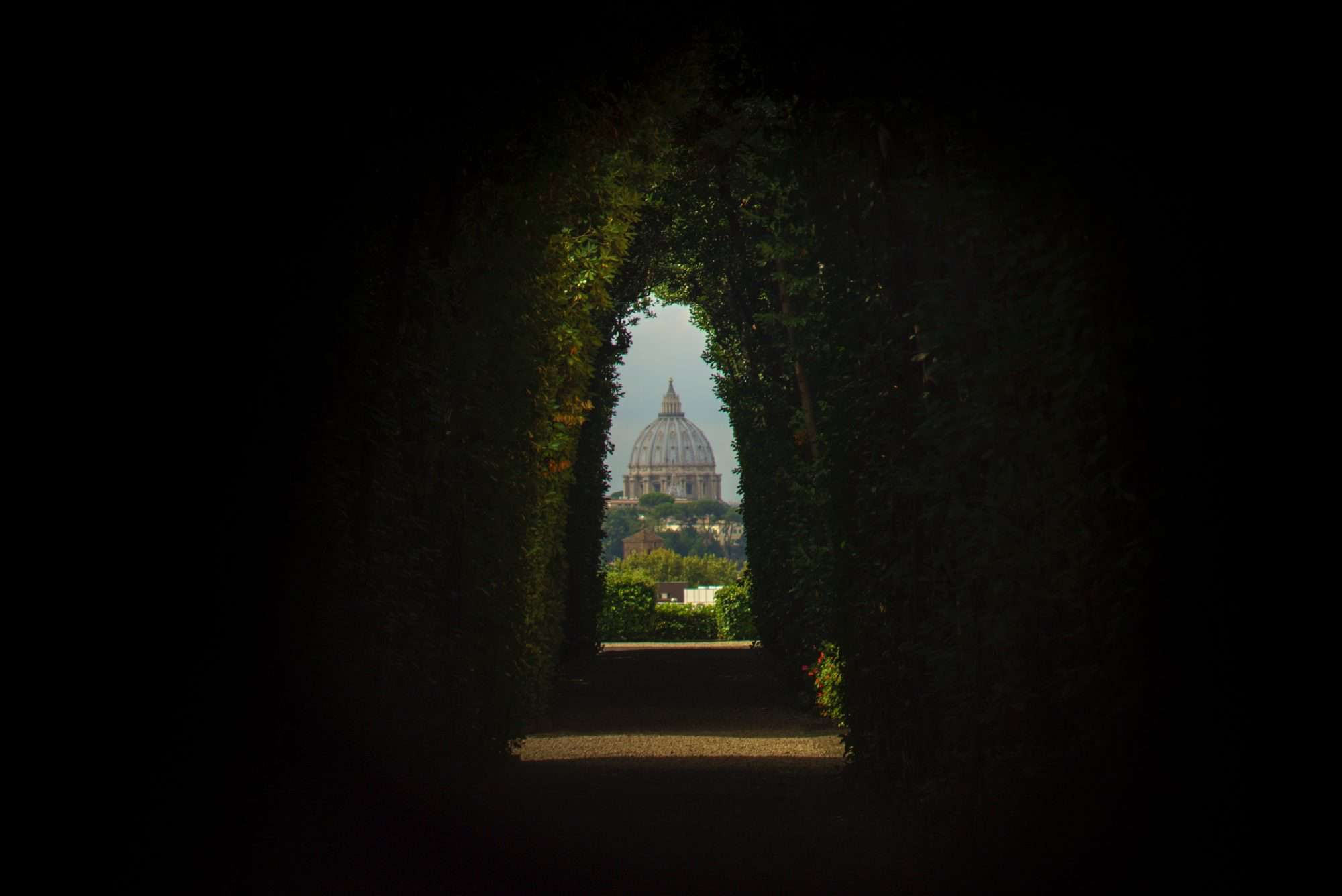 Things to do in Rome - Aventine Keyhole