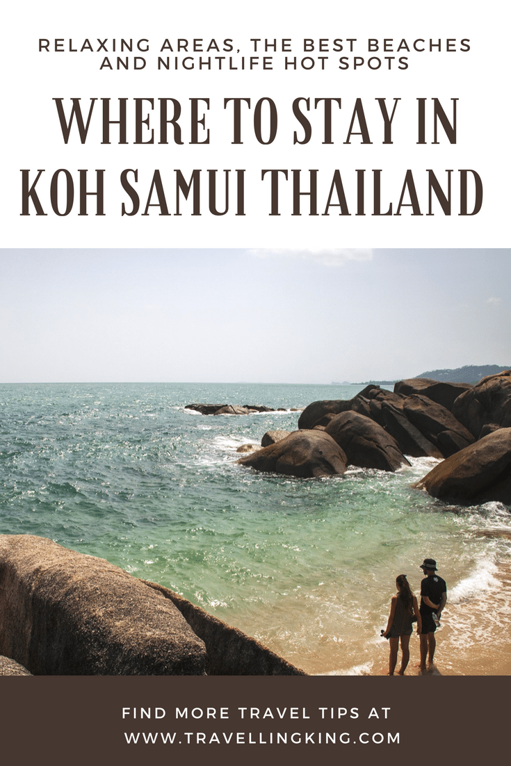 Where to Stay in Koh Samui Thailand – Relaxing areas, the Best Beaches and Nightlife Hot spots. While Koh Samui has the features you'd expect of an island- extravagant palm trees and beautiful beaches- it's also known for its dense rainforest and luxurious spas and resorts. The most popular aspect of the island is definitely the 12 meters tall gold Big Buddha statue located at the Wat Phra Yai temple in the Bophut area