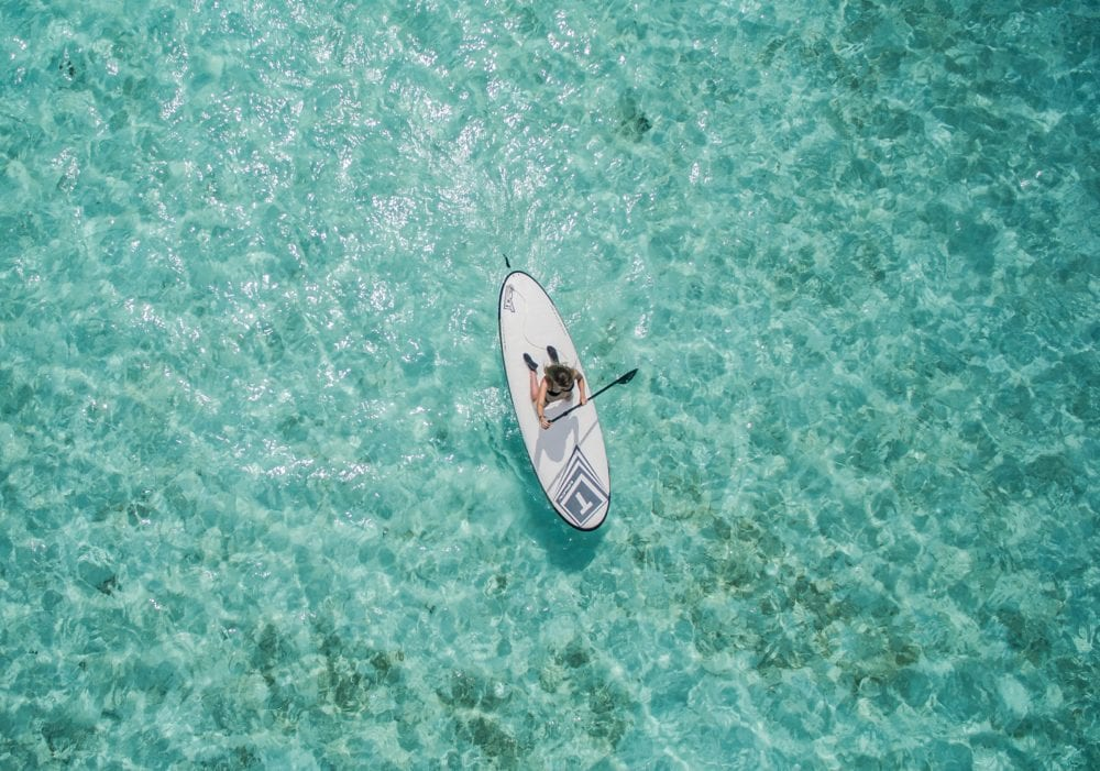 Paddle Boarding - 10 Things to do in the Maldives