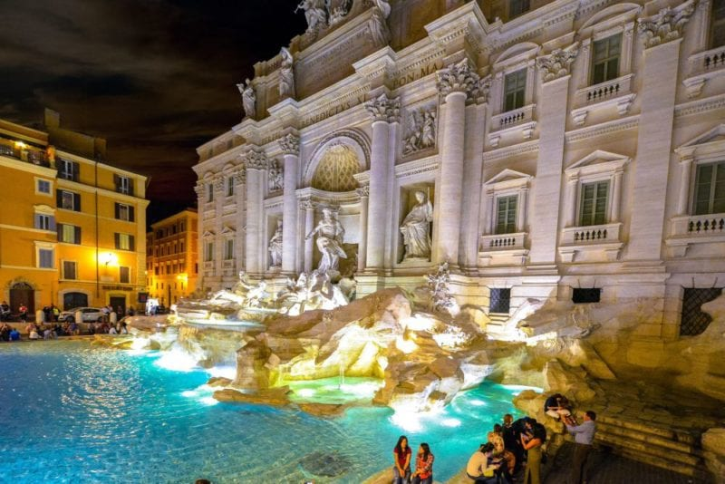 Things to do in Rome - Trevi Fountain