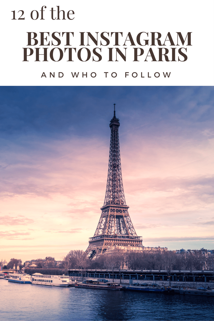 12 of the Best Instagram photos in paris & who to follow! cover
